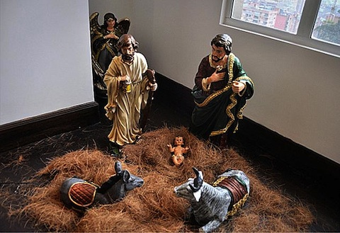 Gay Nativity Scene