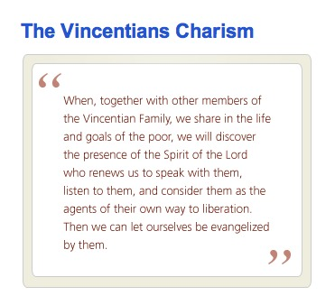 The Vincentians Charism