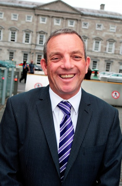 Jerry Buttimer,Fine Gael deputy for Cork South-Central at Leinster House yesterday.Pic Tom Burke 1/7/2015