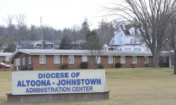 The Altoona-Johnstown diocese administration building in Altoona