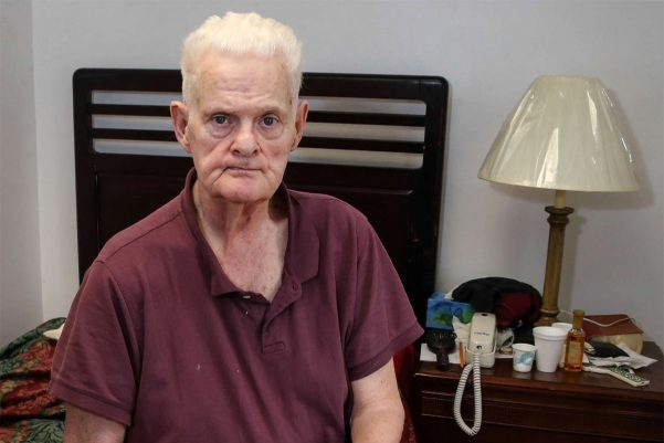 Brian McDonnell, 70, was abused by a priest at the now-closed St. Gregory's in West Philadelphia.