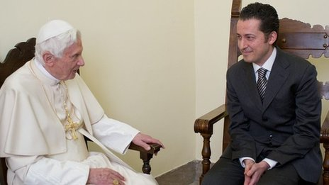 Pope Benedict pardons former butler Paolo Gabriele