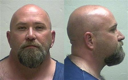 Shawn Ratigan, 47, is seen in two undated booking handout photos in Missouri
