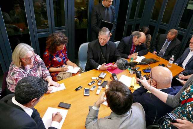 cupich-with-reporters