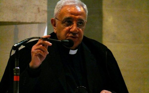 Monsignor Tony Anatrella during a conference in Lille, France.