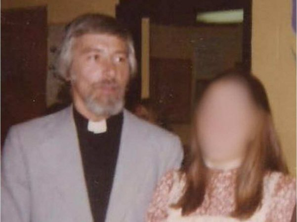 Rev. Barry McGrory in 1975.