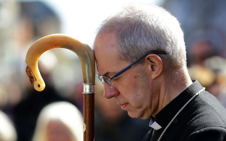 oe tried to contact the Archbishop of Canterbury